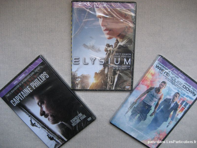 Dvd capitaine phillips elysium white house down