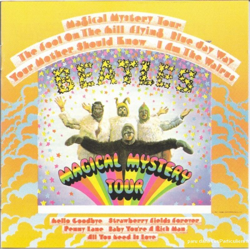 the beatles magical mystery tour sport loisirs et culture dvd cd livre yvelines
