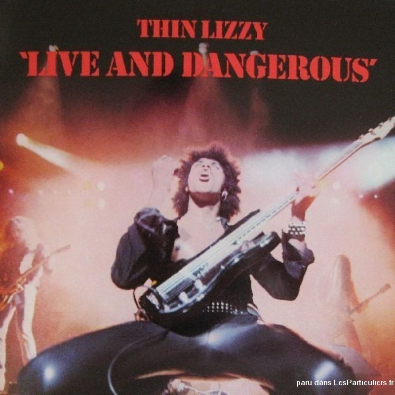 thin lizzy live and dangerous sport loisirs et culture dvd cd livre yvelines