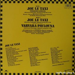 Vanessa paradis Joe le taxi (version longue)