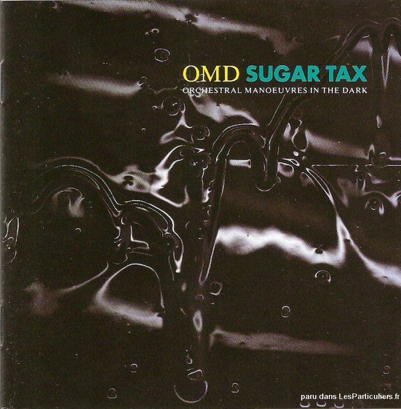 orchestral manoeuvres in the dark sugar tax sport loisirs et culture dvd cd livre yvelines
