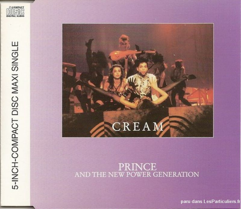 prince cream / horny pony / gangster glam sport loisirs et culture dvd cd livre yvelines