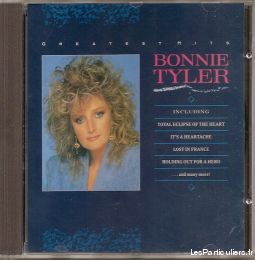 bonnie tyler greatest hits sport loisirs et culture dvd cd livre yvelines