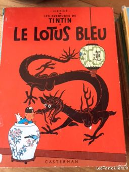 22 albums de tintin editions de 1946 � 1973 sport loisirs et culture collection paris
