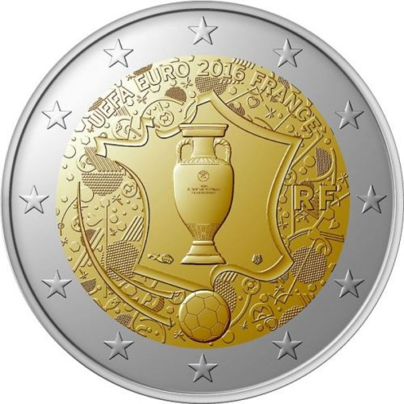 2 euros uefa collection sport loisirs et culture collection seine-maritime