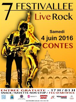 7�me festivallee rock sport loisirs et culture evenement alpes-maritimes