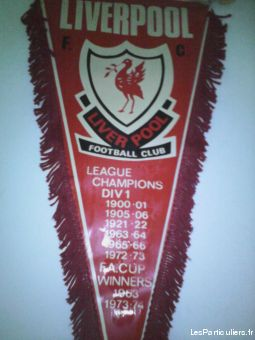 fanion de liverpool sport loisirs et culture collection c�te-d'or