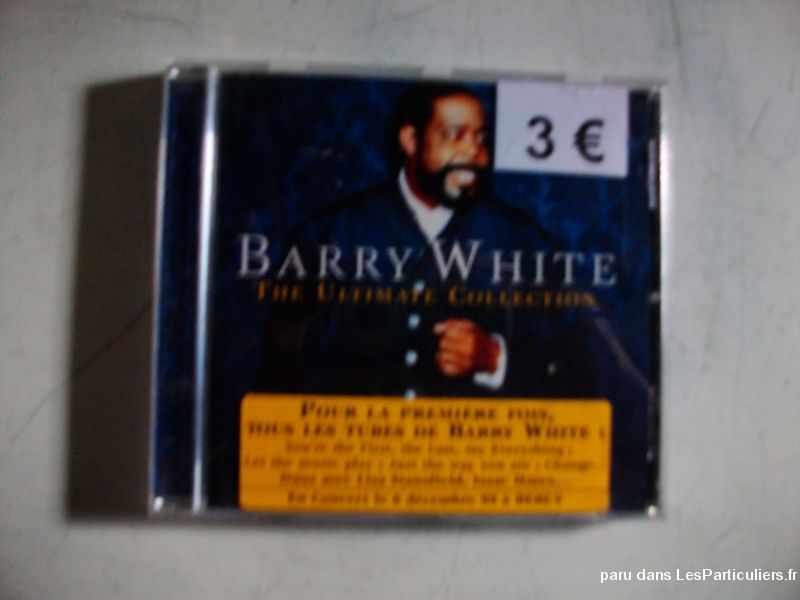 cd de barry white sport loisirs et culture dvd cd livre bas-rhin