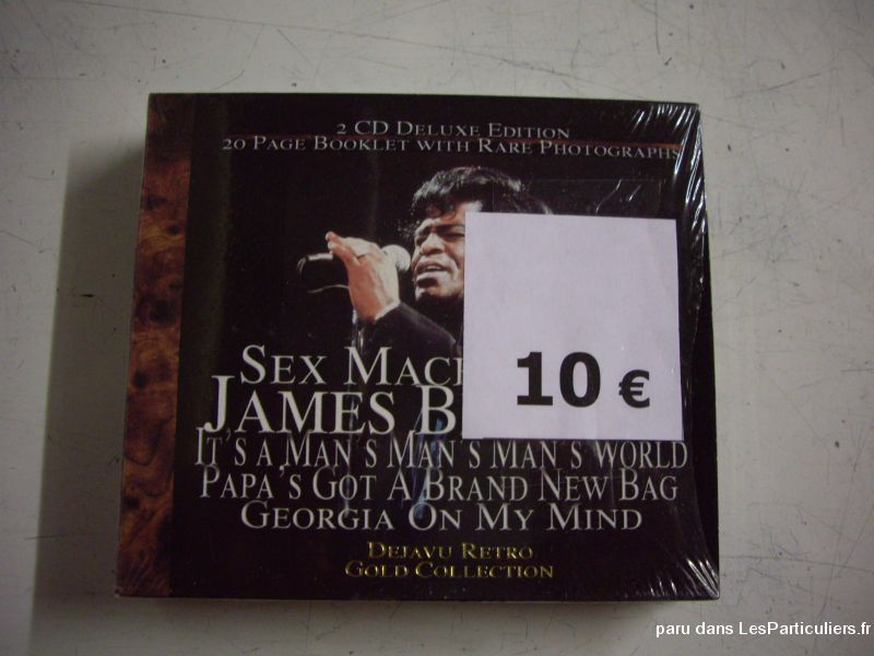 coffret deluxe 2 cd de james brown sport loisirs et culture dvd cd livre bas-rhin