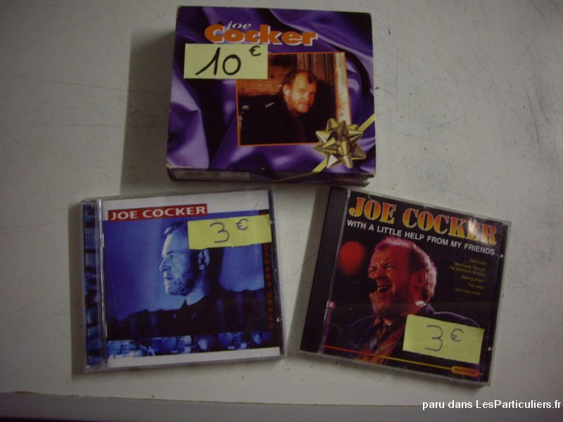 divers cd de joe cocker sport loisirs et culture dvd cd livre bas-rhin