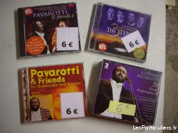 divers cd de pavarotti + pavarotti & friends sport loisirs et culture dvd cd livre bas-rhin