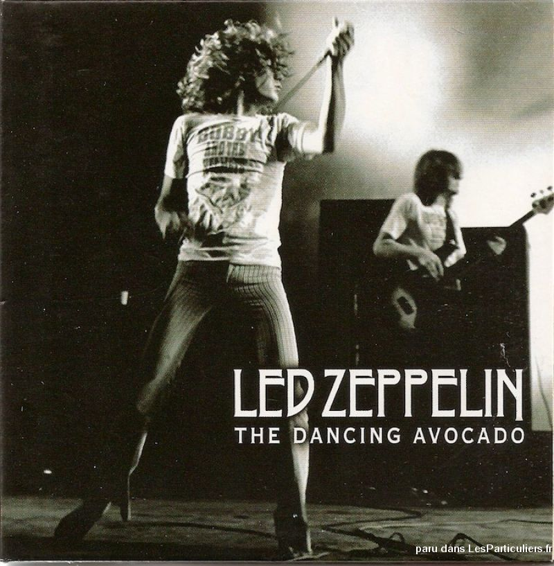 led zeppelin the dancing avocado sport loisirs et culture dvd cd livre yvelines