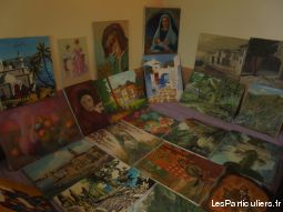 Ma collection 100 Huile Sur Toile