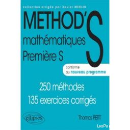 Livre de maths METHOD'S 1ere S