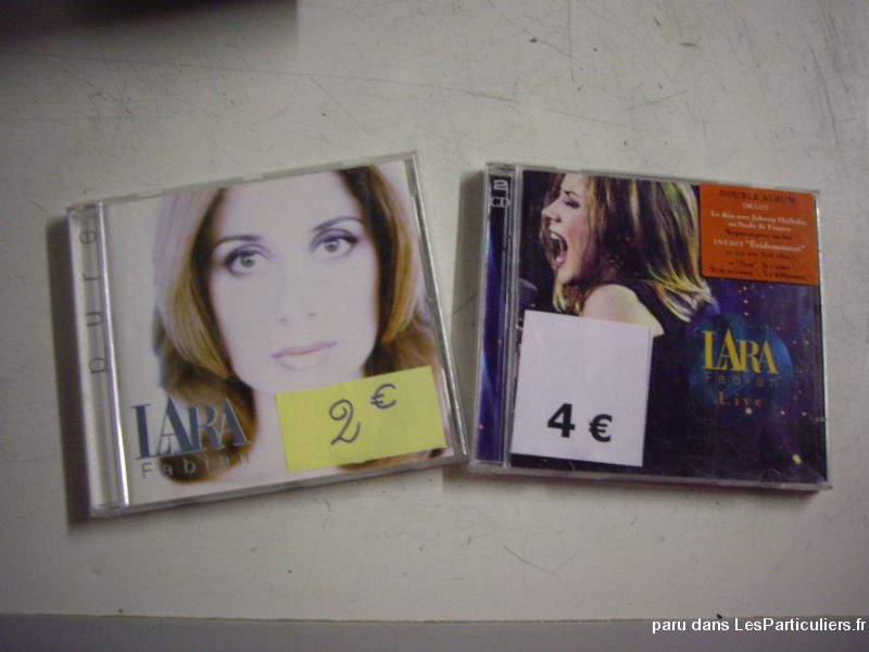 Divers CD de Lara Fabian