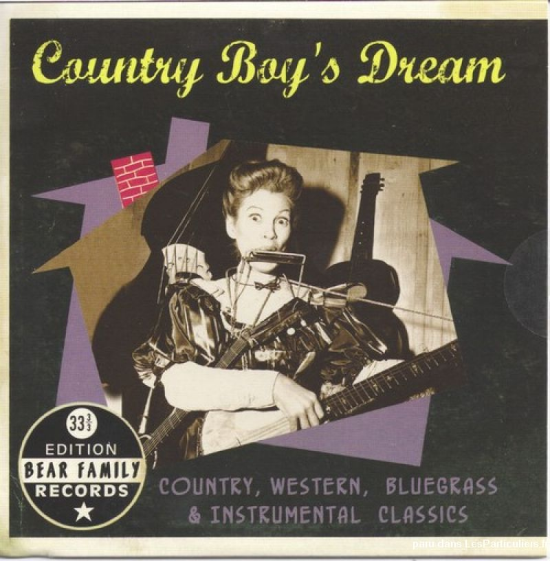 country boy's dream sport loisirs et culture dvd cd livre yvelines