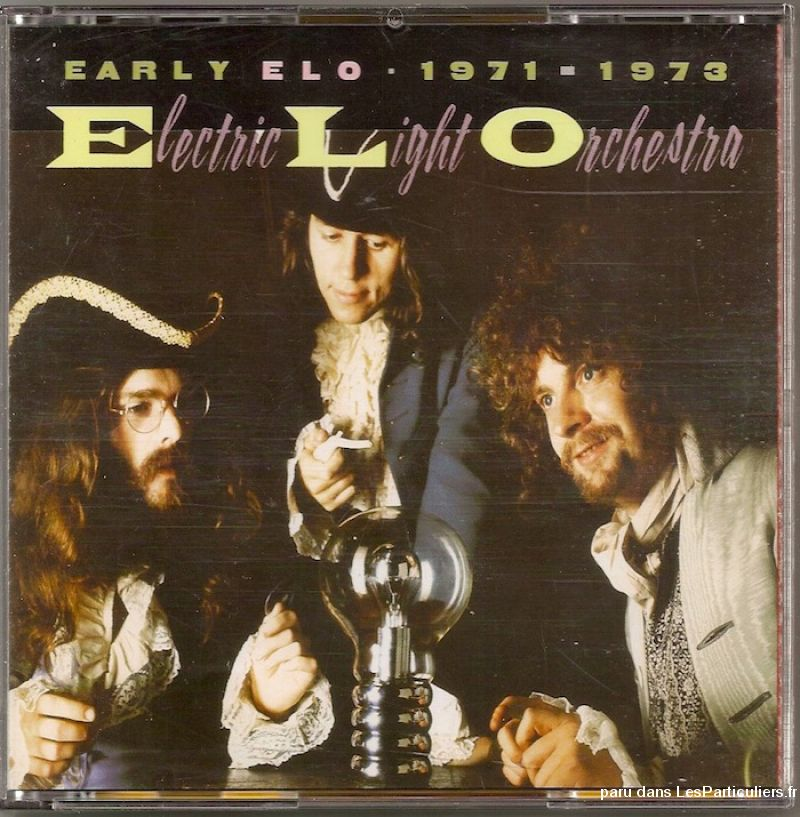electric light orchestra early elo 1971-1973 sport loisirs et culture dvd cd livre yvelines