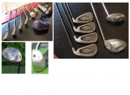 CLUB DE GOLF CALLAWAY + BOIS + PUTTER