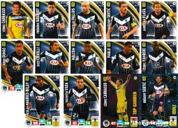 lot 14 cartes adrenalyn 2016 / 2017 equipe bordeaux sport loisirs et culture collection eure