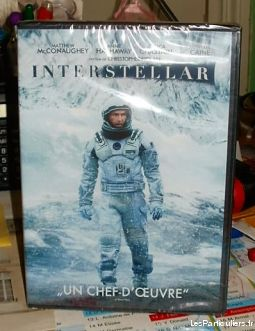 INTERSTELLAR -DVD Neuf sous Blister