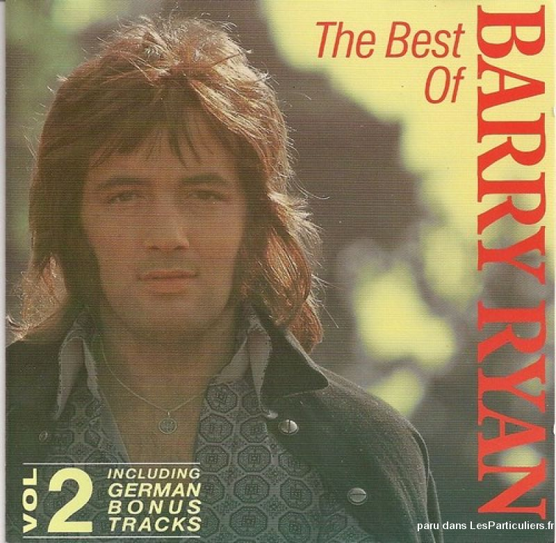 barry ryan the best of vol 2 sport loisirs et culture dvd cd livre yvelines