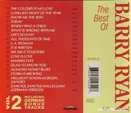 Barry Ryan The best of vol 2