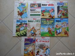 lot de  10 asterix  sport loisirs et culture collection loire-atlantique