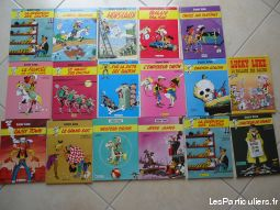 lot  de 17 lucky luke   sport loisirs et culture collection loire-atlantique
