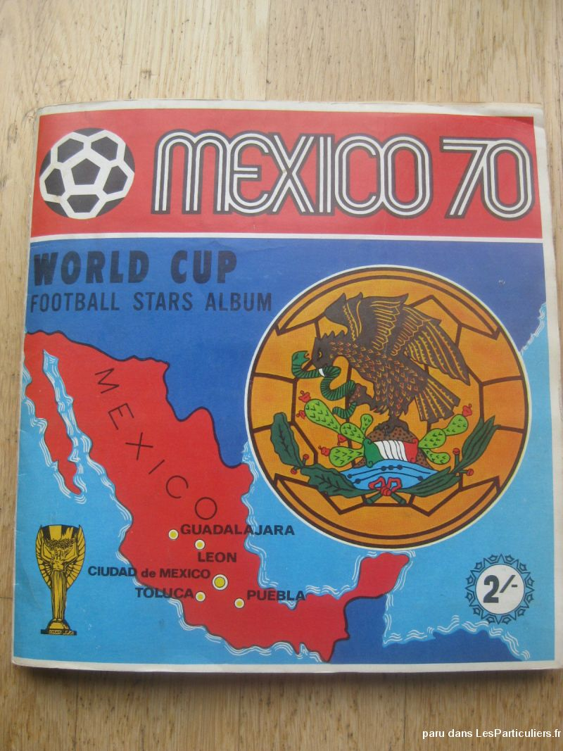 album panini 1970 mexico 70 sport loisirs et culture collection paris