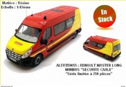 renault master long minibus securite civile sport loisirs et culture collection nord