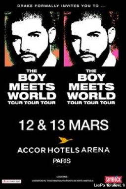 concert drake paris 13 mars 2016 sport loisirs et culture billetterie paris