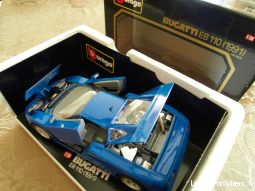 bugatti eb 110 au 1/18 sport loisirs et culture collection sarthe