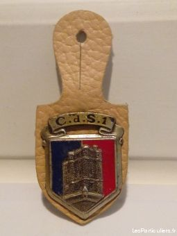 insigne militaria centre de selection n°1  sport loisirs et culture collection vendée