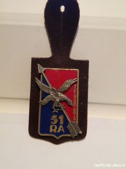 insigne militaria 51° regiment artillerie sport loisirs et culture collection vendée