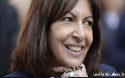 photo autographe anne hidalgo maire de paris  sport loisirs et culture collection nord