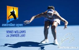 photo autographe venus willliams tennis 26 012017 sport loisirs et culture collection nord