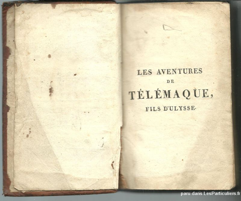 1819 fenelon les aventures de telemaque fils d 39 uly sport loisirs et culture tarn et garonne. Black Bedroom Furniture Sets. Home Design Ideas