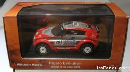 norev - mitsubishi pajero evolution (dakar 2004)  sport loisirs et culture collection alpes-maritimes