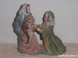 collection de statuettes des saints patrons sport loisirs et culture collection creuse