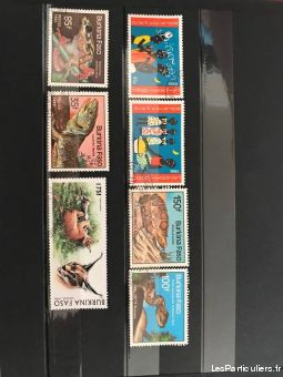 timbres burkina faso sport loisirs et culture collection seine-maritime