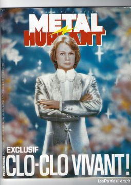 exclusif cloclo vivant metal hurlant (1984) sport loisirs et culture collection loire-atlantique
