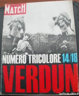 PARIS MATCH N° 802 du 22 août 1964 TRICOLORE 14/18