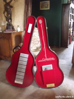 guitare 40 cd johnny hallyday sport loisirs et culture collection haut-rhin