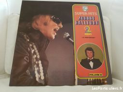 double 33 tours  super hits johnny hallyday sport loisirs et culture collection val-de-marne