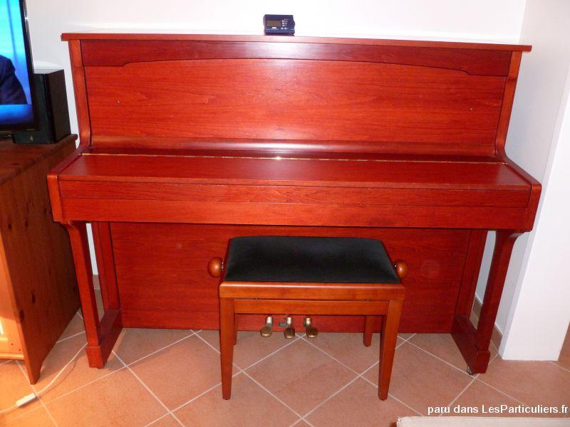 Siege piano reglable
