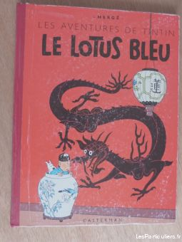 album tintin lotus bleu  eo 1946 b 1 sport loisirs et culture collection nord