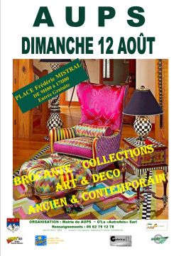 antiquites brocante art deco contemporain sport loisirs et culture evenement var