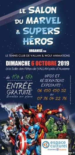 3EMES SALON DU MARVEL ET SUPERS HEROS