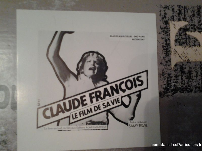Papier de presse photo de Claude François