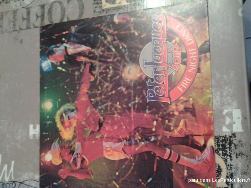 Peter Jacques band fire night dance en vinyle